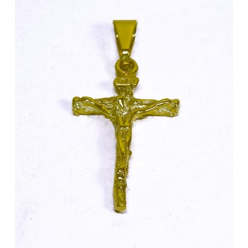 Pingente Semijoia Crucifixo Pequeno PG5767